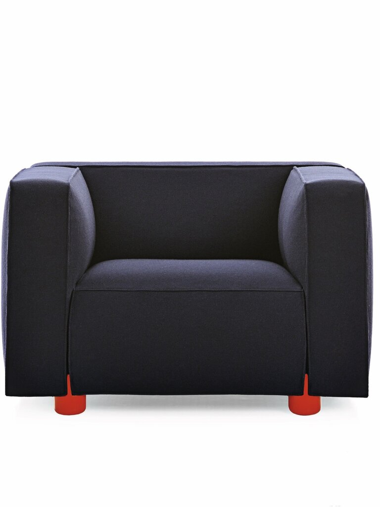 Knoll Armchair Red Feet_High_AW